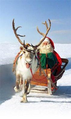 Santa Claus is coming!