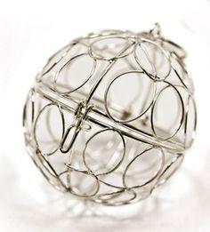 Mini Dekokugel Silber
