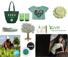 So many ways to give back and wear green! :)