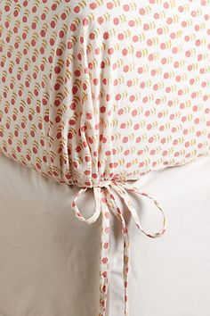 Kerry Cassill Rust Tiny Booti Fitted Sheet #anthropologie