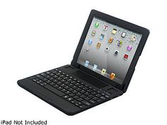 Fuji Labs ProFolio BT710-BK Multifunction iPad Bluetooth Keyboard Black