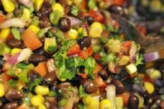fiesta black bean and corn salsa by pballone