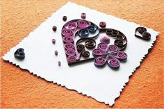 How to make heart shape decoration step by step DIY tutorial instructions, How to, how to make, step by step, picture tutorials, diy instructions, craft, do it yourself