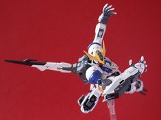 The real bad ass which appeared at second seasons of Mobile Suit Gundam Iron Blood Orphans  this is Barbatos Lupus Rex by ITTA . It's a ...