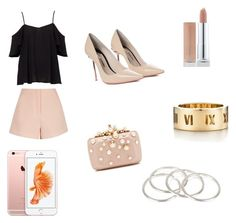 """Untitled #13"" by jcamila-jc on Polyvore featuring Finders Keepers, Sophia Webster, Elie Saab, Tiffany & Co. and Vanessa Mooney"