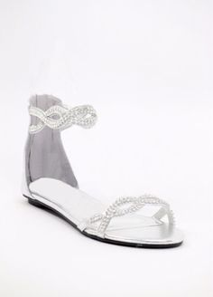 46ed8a610fd553 Style 800-45 By Shop Zoey These sandals have a regal elegance fit for the  princess bride on a budget ( 49.99