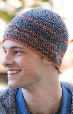 Warm & Snug Beanie Free Crochet Pattern from Red Heart Yarns