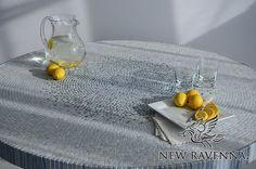 Mist - Custom Mosaic Table | New Ravenna Mosaics