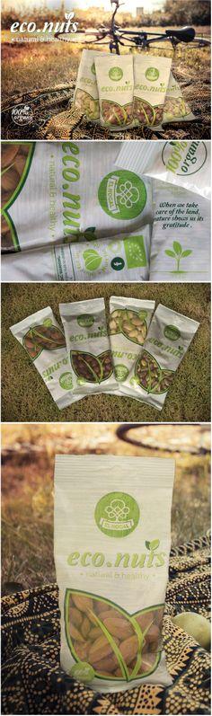 Eco.Nuts | El Nogal by Koolbrand #desing #nuts #packaging #koolbrand