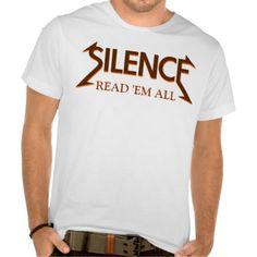 Librarian SILENCE shirt