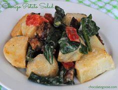 Potato and Chorizo Salad