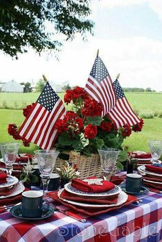 Outdoor Dining Celebration