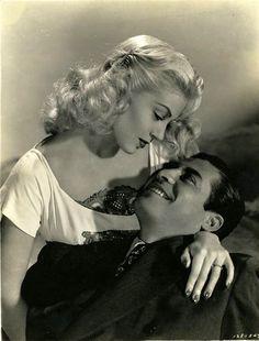 "Lana Turner y John Hodiak en ""Marriage Is a Private Affair"", 1944"