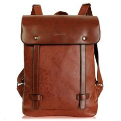 Cool! Retro Locomotive Artificial Leather Backpack School Bag just $33.99 from ByGoods.com! I can't wait to get it!