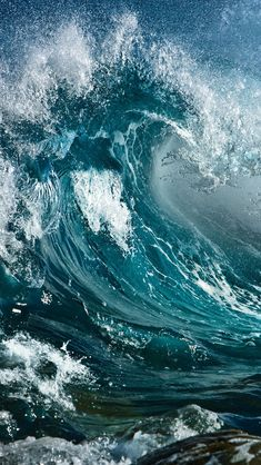 Wave #iPhone #5s #Wallpaper | Enjoy more here: http://www.ilikewallpaper.net/iphone-5-wallpaper/.