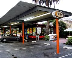 A&W was an awesome place to go to when they had their drive-in. Remember the orange rubber thing on the tray when they brought out the food?