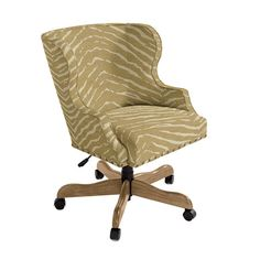 Suzanne Kasler Alexandra Desk Chair with Brass Nailheads ballards - $799-979