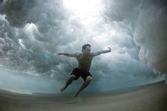 Stunning Underwater Photos of People Fighting Against the Ocean | Bored Panda