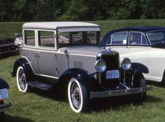 1929 Chevrolet Landau convetible 4 door