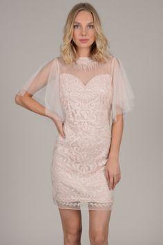 Nox Anabel - Embellished Off-Shoulder Sheath Dress Sequin Dress, Peplum Dress, Lace Dress, Prom Looks, Fitted Bodice, Shoulder Sleeve, Sheath Dress, Off The Shoulder, Plus Size