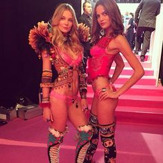 #Barbara #Fialho at the #2014 #Victoria's #Secret #Fashion #Show! If you like my pins, please follow me and subscribe to my new fashion channel! Let me help u find all the things that u love from Pinterest! https://www.youtube.com/watch?v=XSiQP5OFjXE&list=UUCP8TXebOqQ_n_ouQfAfuXw #vsfashionshow #lingerie