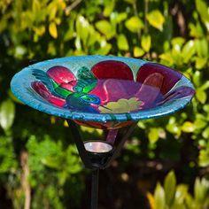 Evergreen Flag & Garden Hummingbird Harmony Birdbath