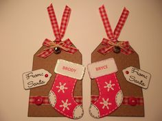 Christmas Gift Tags - http://www.julieskraftykorner.blogspot.com