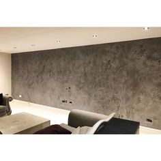 Beautiful polished plaster interior application in private residence, Cobham, Surrey.