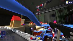 Batla Shooter is a Free-to-Play Shooter MMO Game with violent Robots