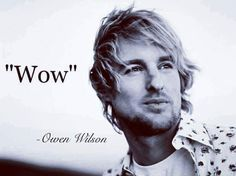 Owen Wilson at his finest   funny pictures