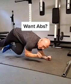 Abs And Cardio Workout, Hiit Workout Routine, Gym Workouts For Men, Workout Plan For Men, Gym Workout Videos, Weight Training Workouts, Gym Workout For Beginners, Free Meal, Ab Exercises