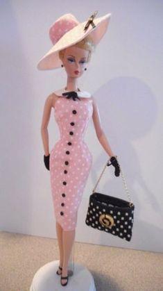 Um de um tipo Barbie Silkstone Vintage Feito À Mão Fashion Royalty Poppy Parker por Mary