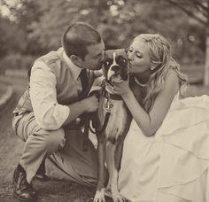 Nao se esqueçam de uma fotografia assim :D   wedding-dog-ringbearer
