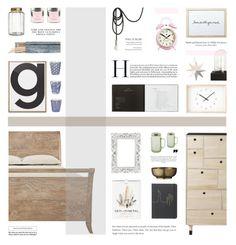 """Bedroom Decor"" by allva ❤ liked on Polyvore featuring interior, interiors, interior design, home, home decor, interior decorating, H&M, Bamford, Dot & Bo and Newgate"