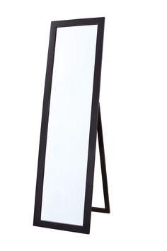 Kings Brand Cherry Finish Wood Frame Floor Standing Mirror | Floor ...