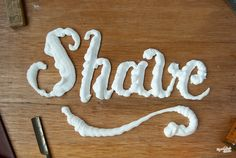 Some awesome font ideas spelled out with the objects they're made from. Via Notcot:
