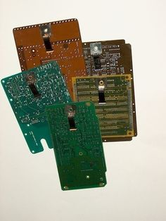 RECYCLED CIRCUIT BOARD SMALL CLIPBOARD Geekery Pkg. 1