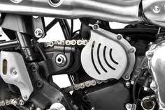 South Garage CACHES PIGNONS sortie de boite TRIUMPH South Gargage Motor Co…