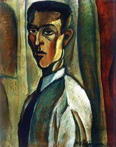 VICTOR BRAUNER Self-Portrait (1923)