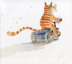 El gato de Matilda. Emily Gravett |