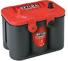 The RedTop will outperform and outlast traditional batteries in demanding cranking/starting applications. Its reputation as a truck battery or automotive battery is unsurpassed. OPTIMA has built over 100 million individual spiral cells since the early Rv Battery, Lead Acid Battery, Battery Logo, Battery Hacks, Battery Icon, Installation Solaire, Optima Battery, Golf Cart Batteries, Philips