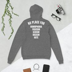 Spread positive vibes with this hoodie! Positive Vibes, Positivity, Hoodies, Trending Outfits, Handmade Gifts, Clothes, Etsy, Fashion, Kid Craft Gifts