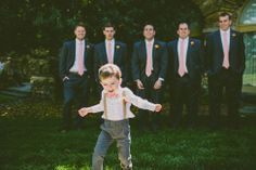 I mean... ADORABLE ring bearer! Southern Elegance At This Sunset Inspired North Carolina Graylyn Estate Wedding | Photograph by Carolyn Scott Photography  http://storyboardwedding.com/southern-elegance-north-carolina-graylyn-estate-wedding