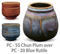 Chun Plum over Blue Rutile!!!