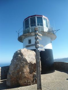 Cape Point- Cape Town, words cannot describe the view from here! Cape Town Holidays, Lighthouse Pictures, Under The Rainbow, Shine The Light, Beacon Of Light, Dream City, Light House, Once In A Lifetime, Most Beautiful Cities