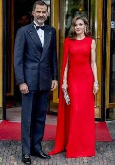 Queen Letizia of Spain .. Private Birthday Party of King Willem at Noordeinde Palace