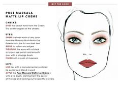 Get the Look - Pure Marsala Matte Lip Creme: Pantone Color of the Year | Sephora