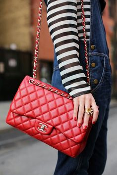 Chanel 2.55 in red| Atlantic pacific