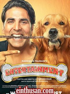 Entertainment Hindi Movie Online - Akshay Kumar, Tamannaah Bhatia, Johnny Lever, Sonu Sood and Prakash Raj. Directed by Sajid-Farhad. Music by Sachin - Jigar. 2014 [U/A] w.eng.subs
