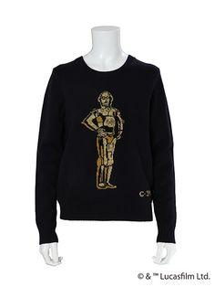 GALLERY MUVEIL Online Shop  インターシャニットプルオーバー(C-3PO)